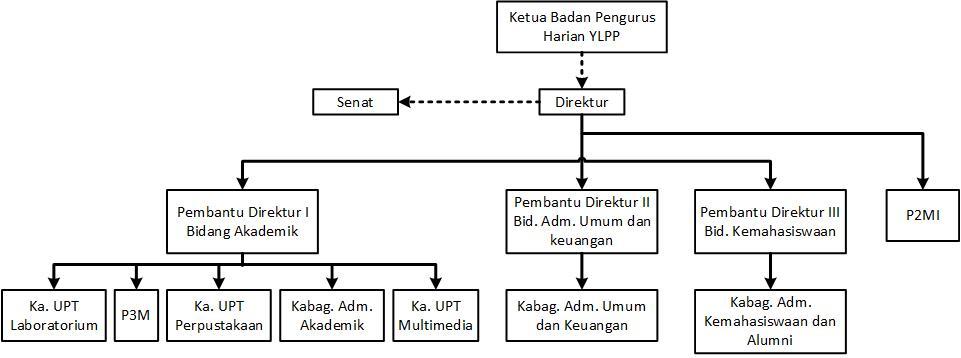 struktur organisasi ylpp